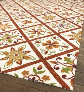 "Kaleidoscope Indoor/Outdoor Rug, 24""x 42"""
