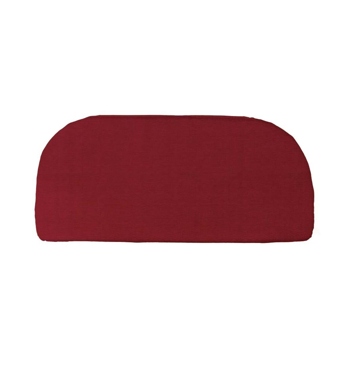 Polyester Rounded Classic Bench Cushion