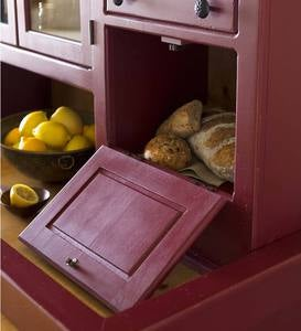 Medium Conestoga Cupboard, Painted Finish - Avocado