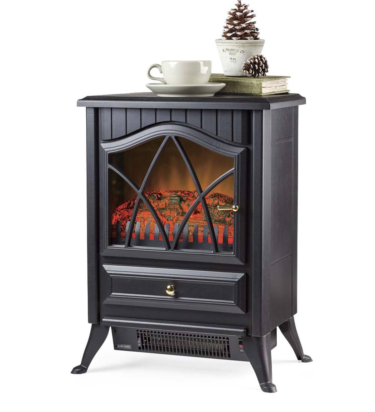 Compact Electric Stove - Black