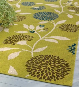 "Floral Surry Rug,7'10""x 10'10"""