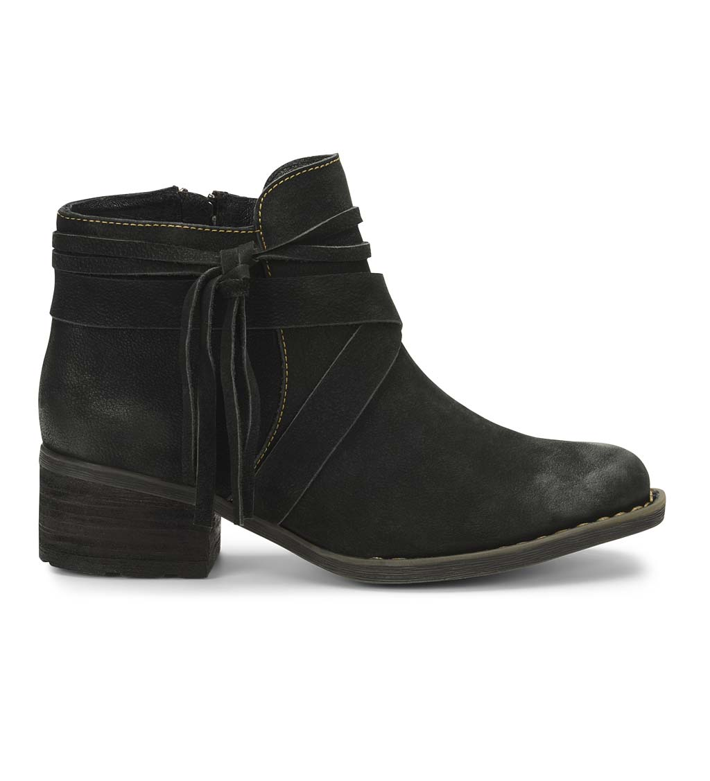 Born Montilla Ankle Boots With Tassel