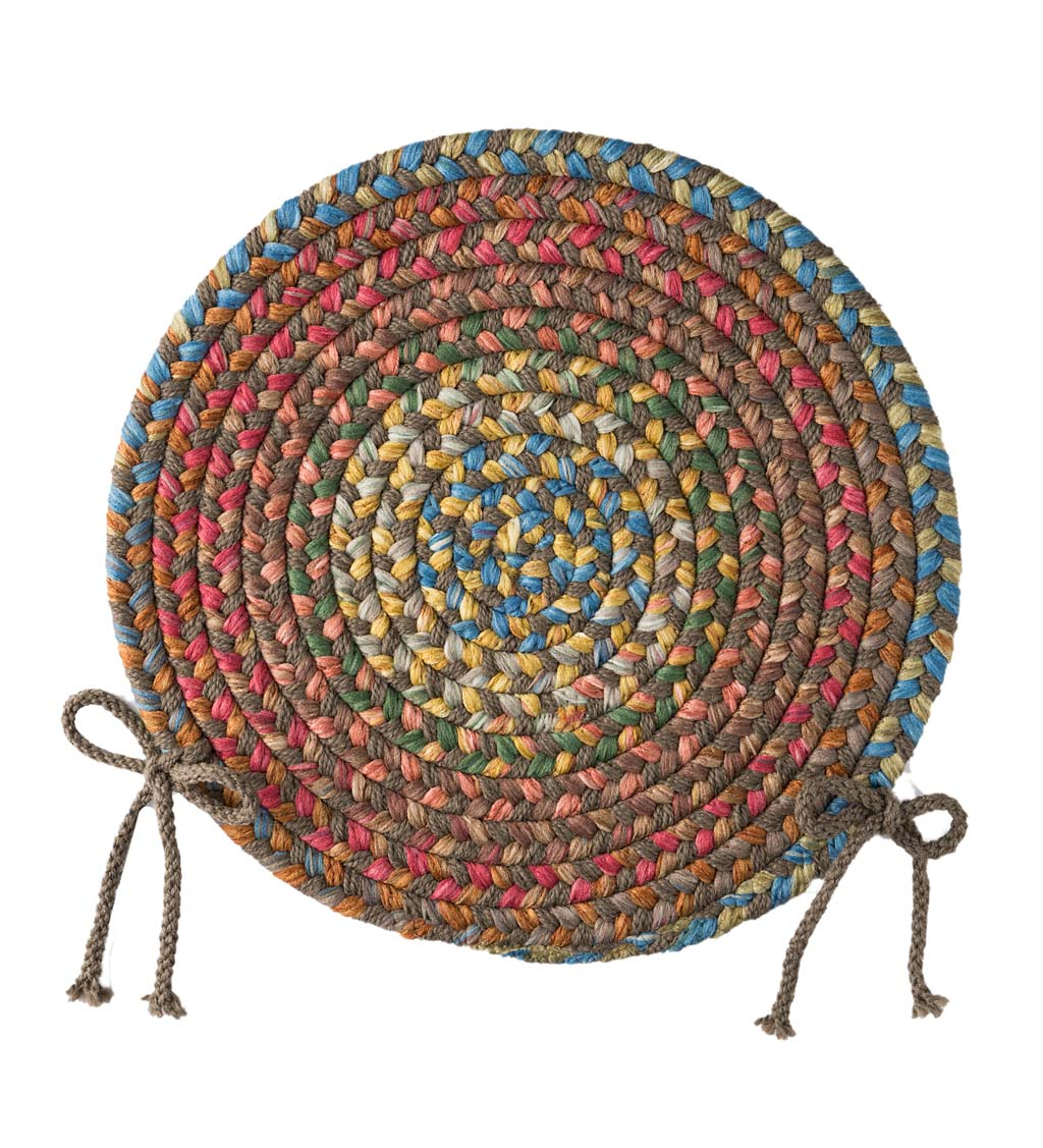 Afton Mountain Indoor/Outdoor Polypropylene Braided Chair Pad