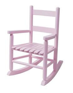 Child's Oak Ladderback Rocker - Optional Personalization