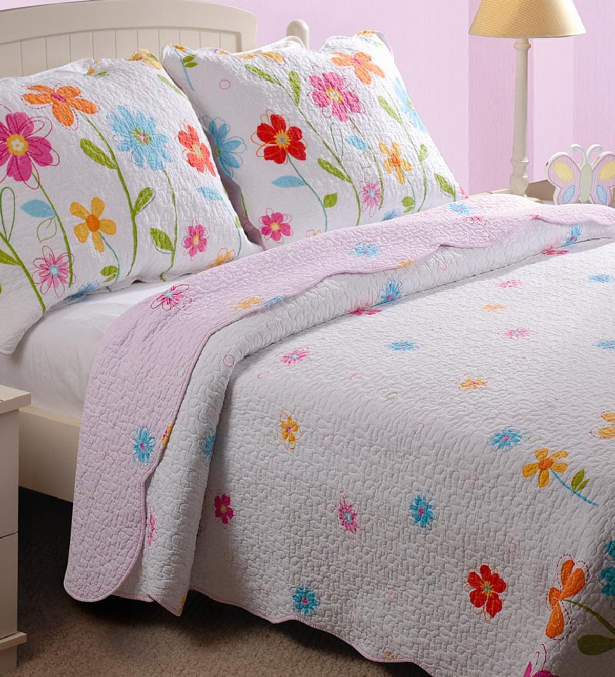 Brooklynn Twin Quilt Set