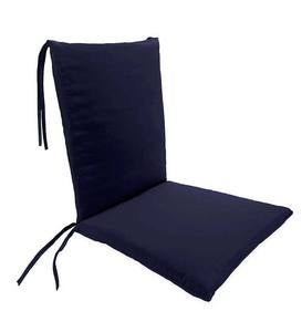 Outdoor Classic Rocking Chair Cushions with Ties - Navy