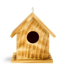 Colonial Wood Bird House