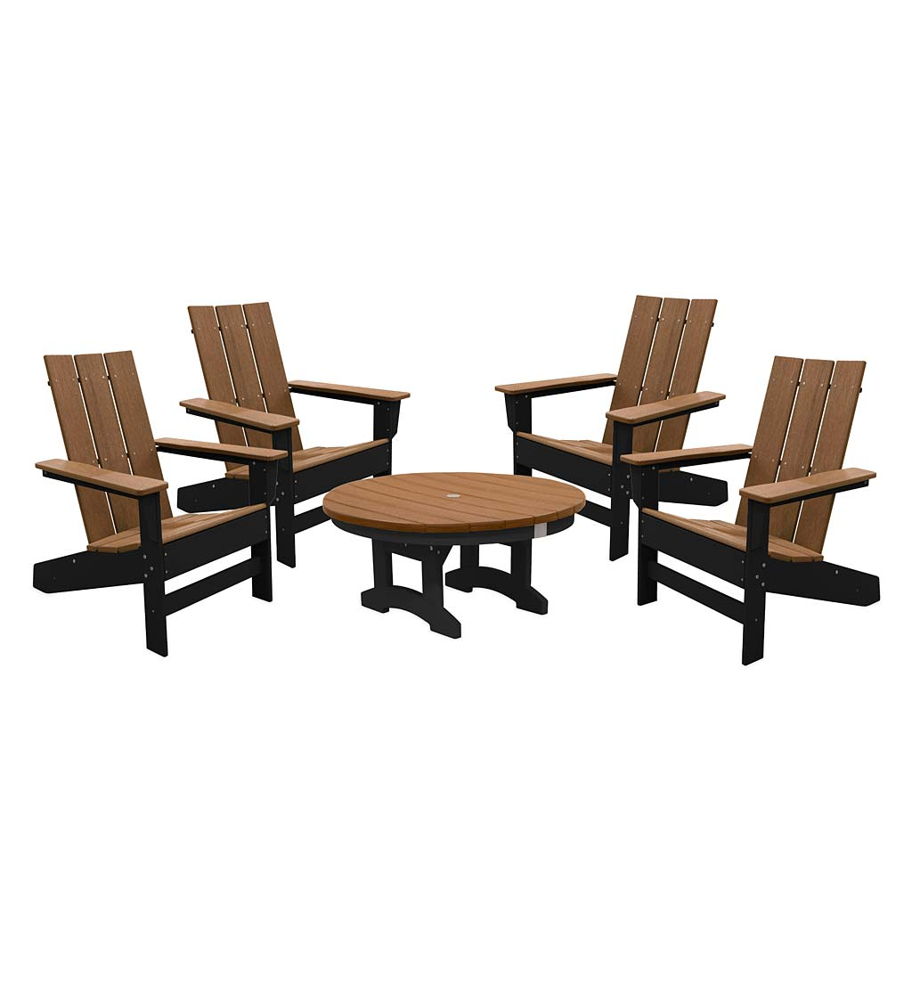 May River Outdoor Seating 5-Piece Conversation Set swatch image