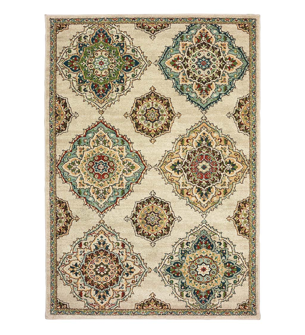 Daughton Medallion Rug, 3' x 5'
