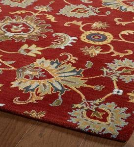 Lauren Floral Wool Area Rug