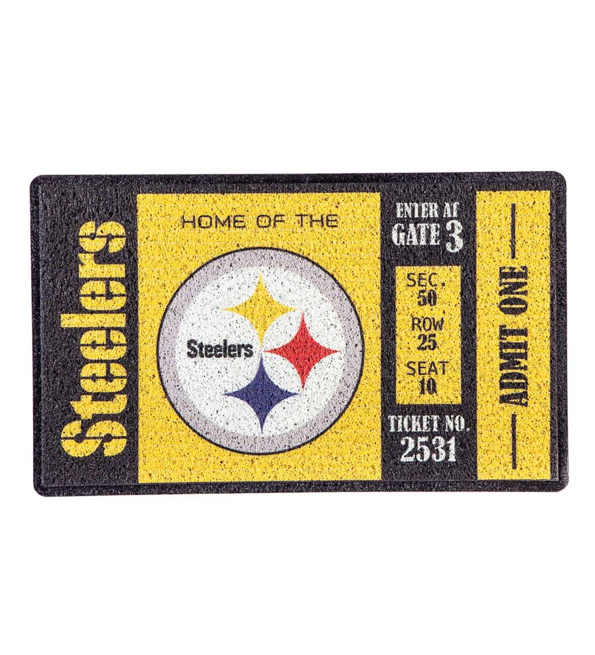 Pittsburgh Steelers Durable Turf Mat