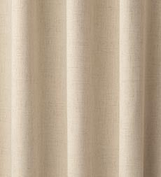 "Homespun Rod-Pocket Insulated Curtain, 63""L"