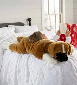 Boxer Plush Body Pillow