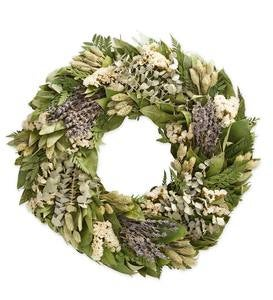 Fern and Lavender Wreath