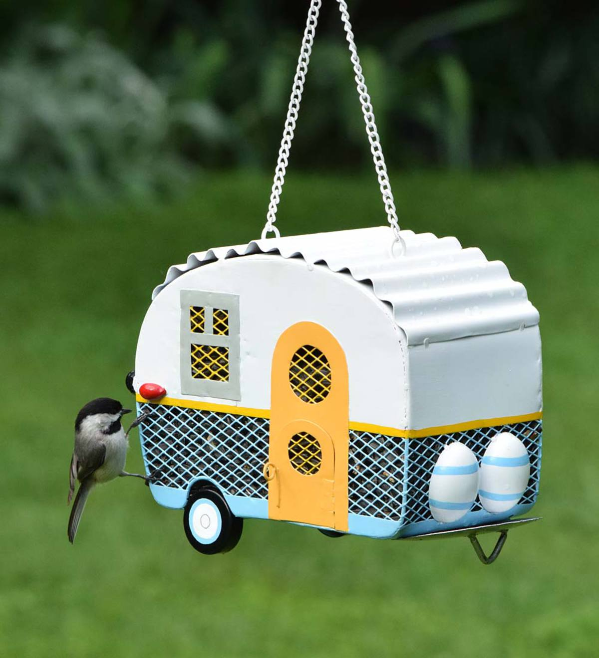 Retro Camper Bird Feeder