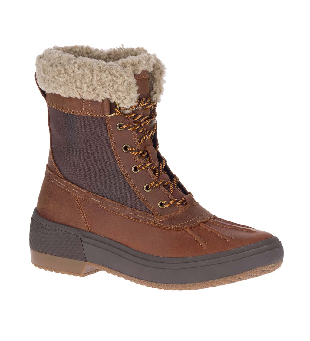 Merrell Haven Mid Lace Polar Waterproof Boots