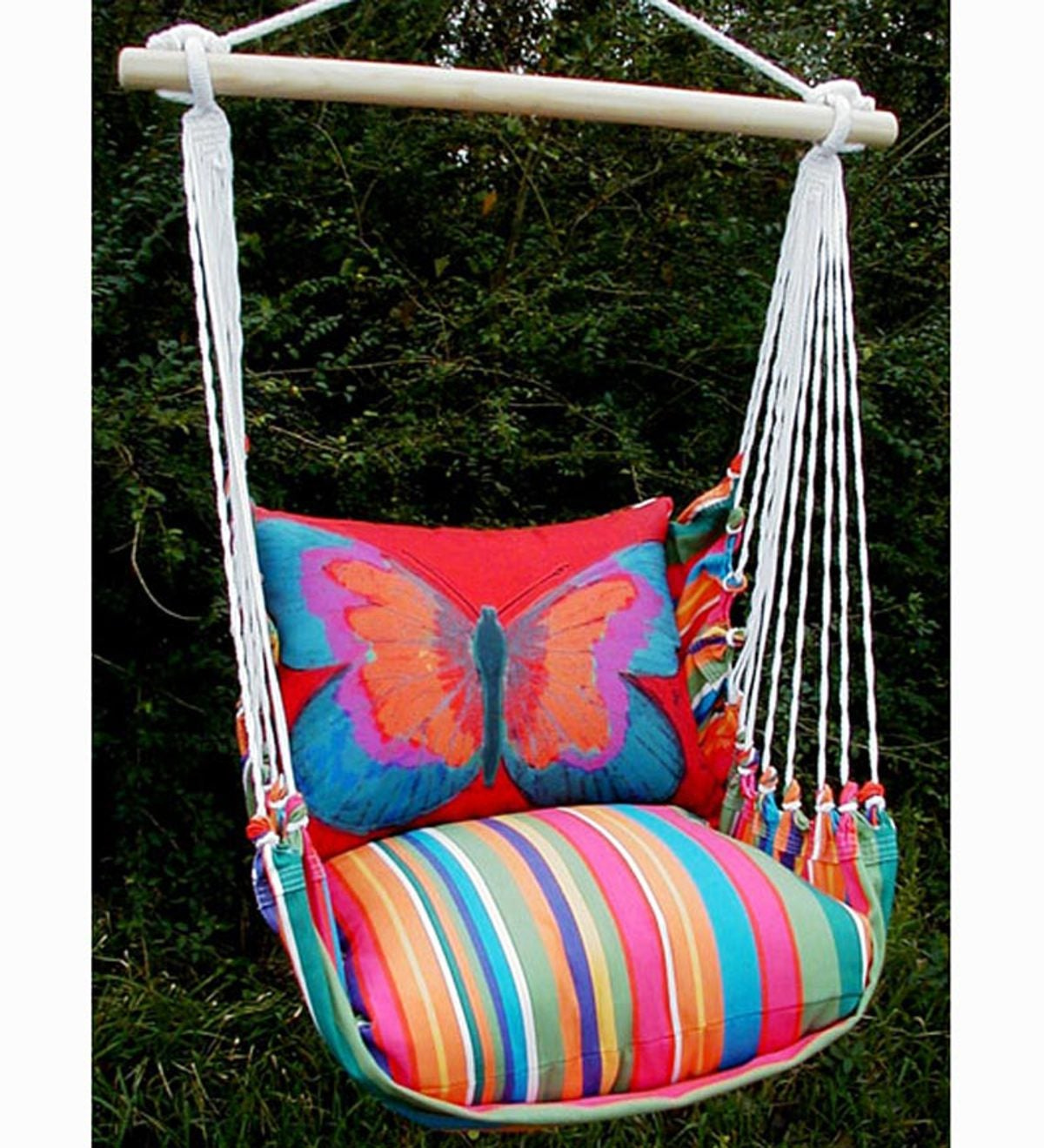 Butterfly Hammock Swing With Tote