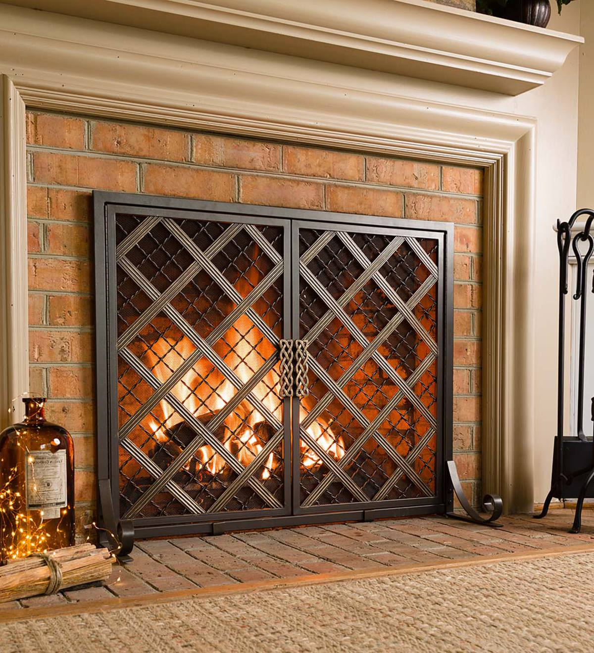 McCormick Celtic Fireplace Screen, Large