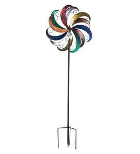 Flower Scroll Wind Spinner