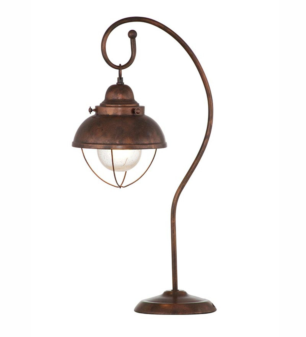 Metal Allegheny Table Lamp in Copper Finish