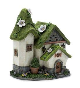 Solar Miniature Fairy Garden Cottage