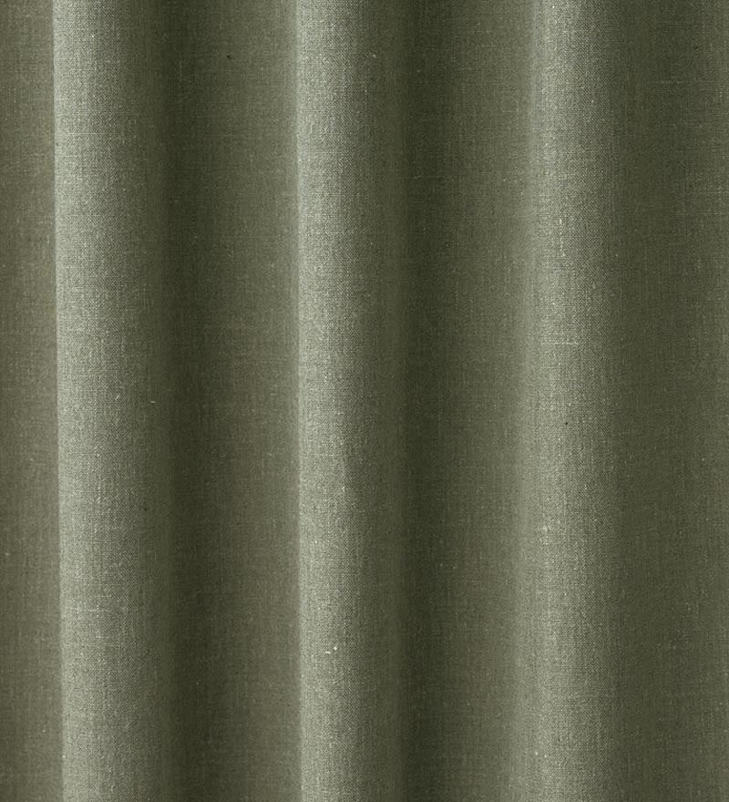"Homespun Rod-Pocket Insulated Curtain, 84""L"