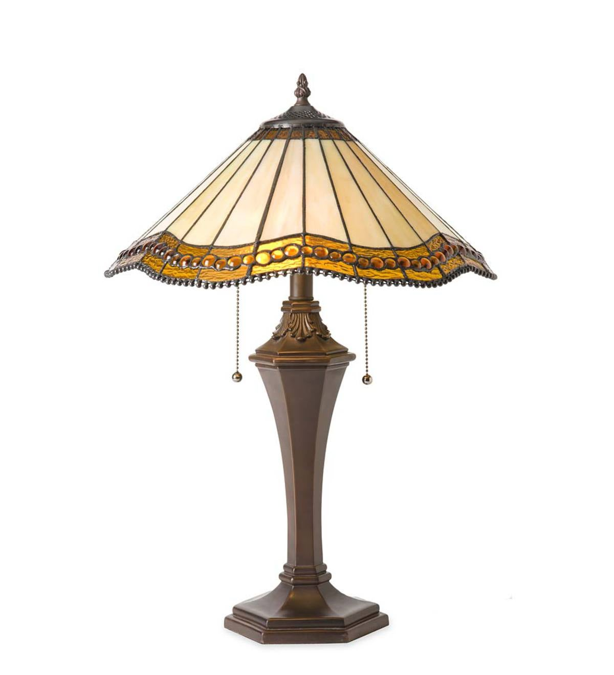 Oak Park Tiffany-Style Table Lamp