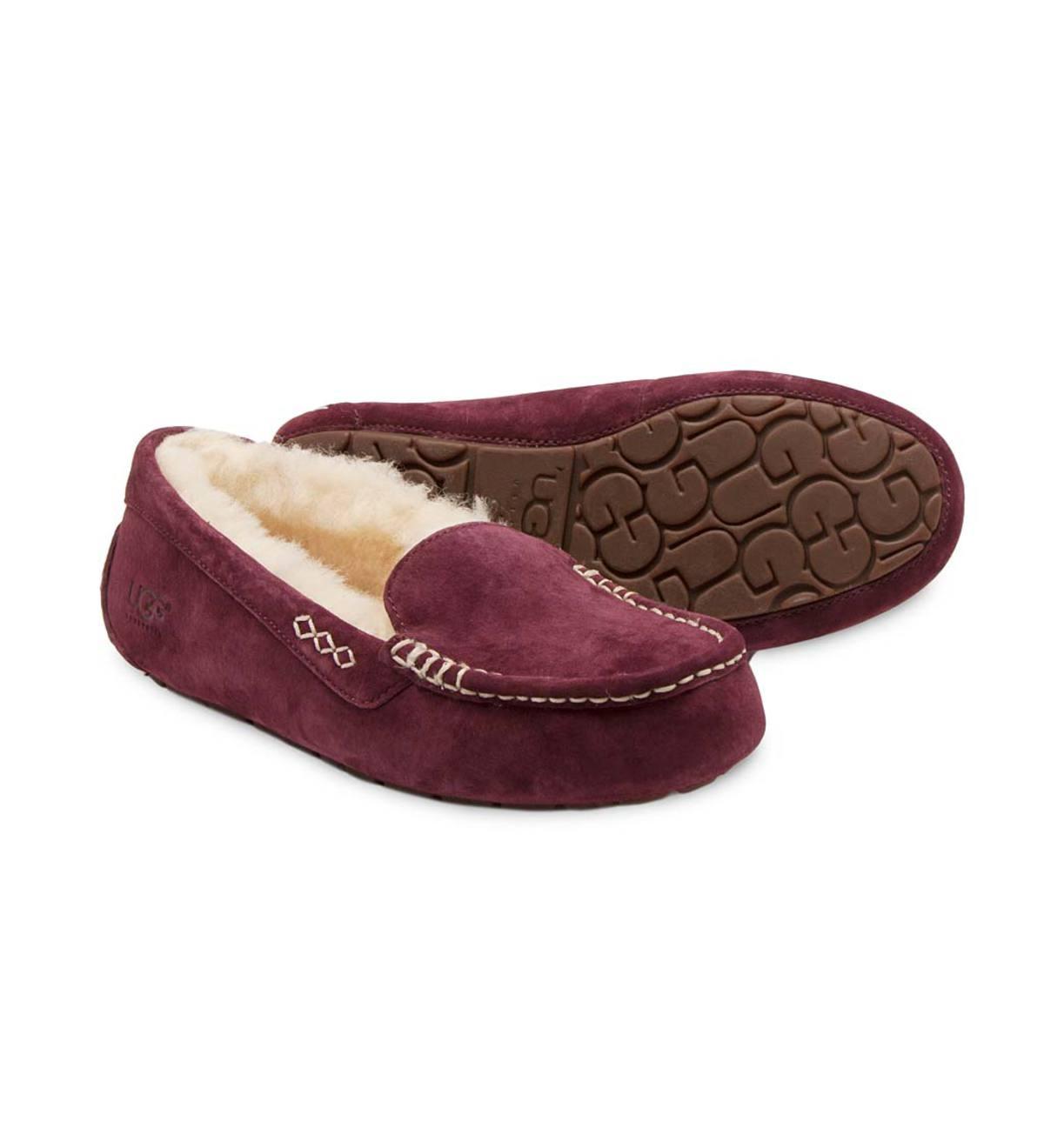 b4cce0cc2dd Sale UGG Australia Women's Ansley Moc Slippers | PlowHearth