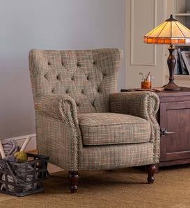 Madison Upholstered Wingback Chair