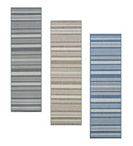 Veranda Striped Indoor/Outdoor Polypropylene Rug