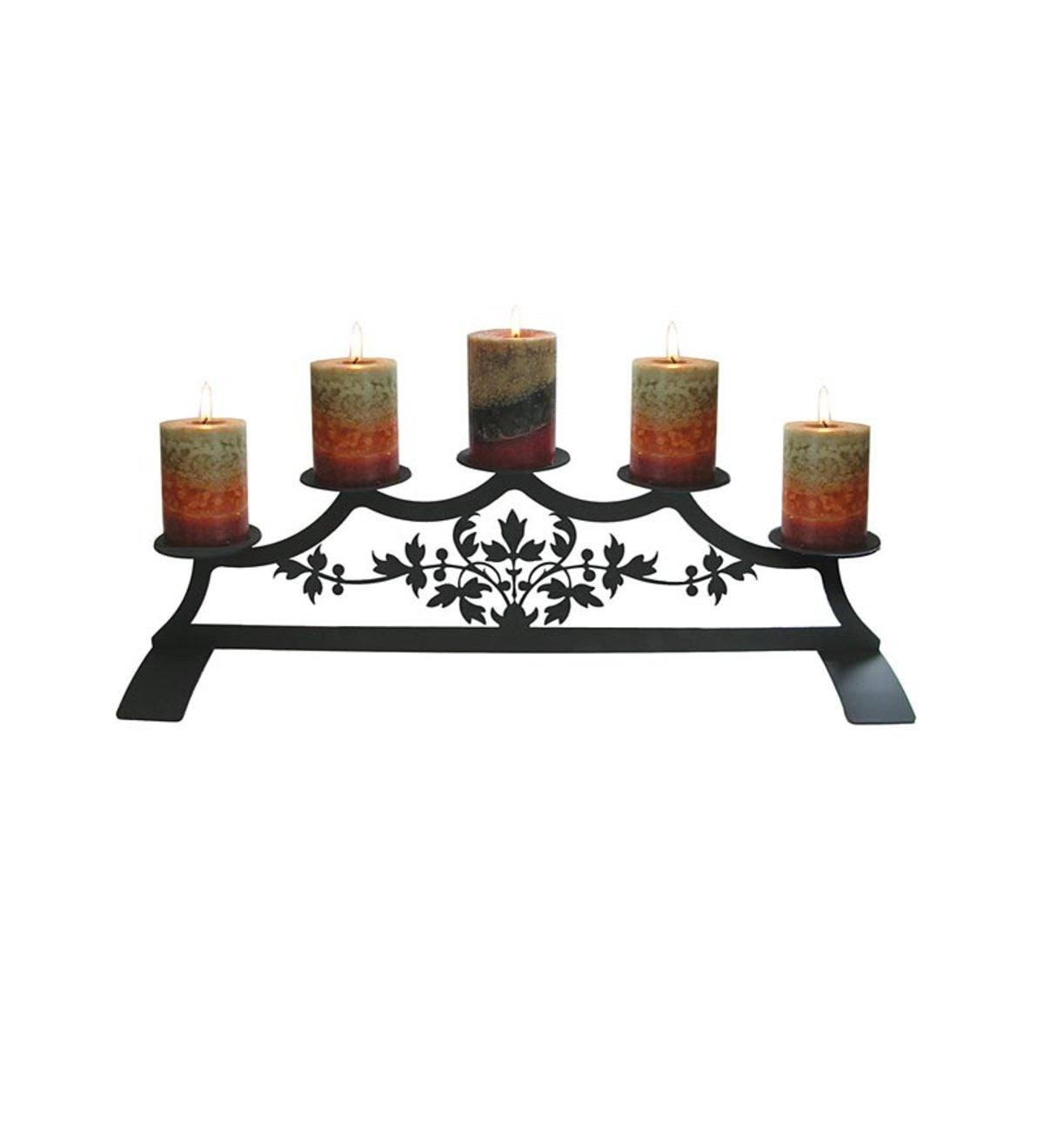 Leaf Fireplace Candelabrum
