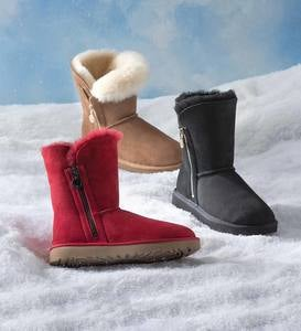 UGG Bailey Zip Short Suede Boots