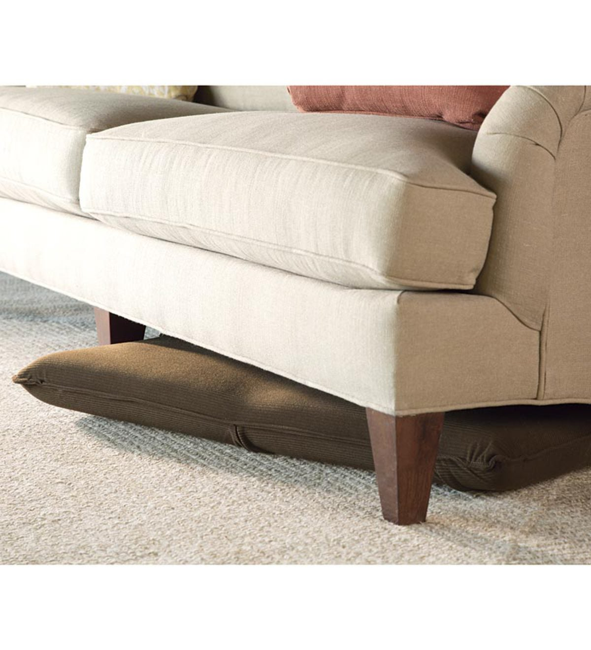 Multiangle Floor Chair With Adjustable Back Chocolate