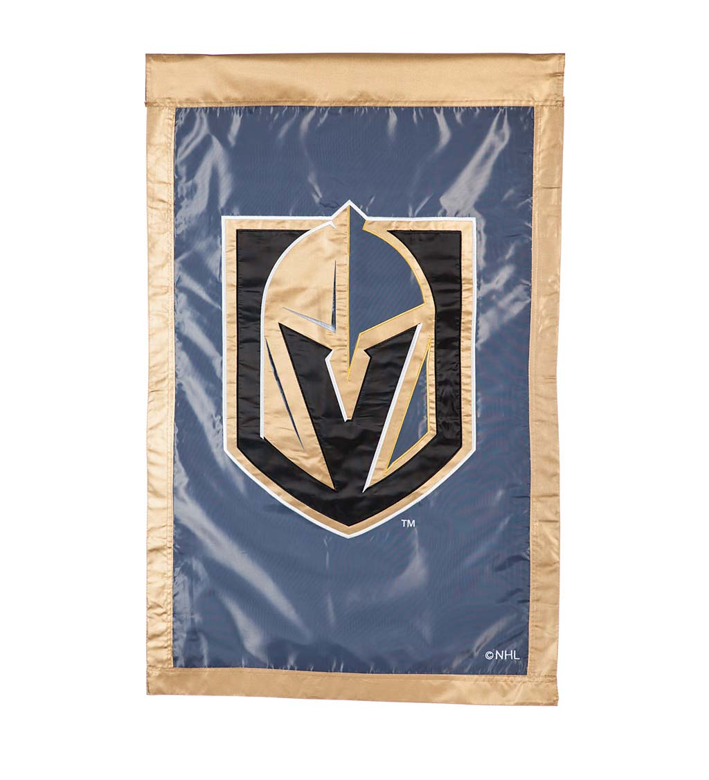 NHL Hockey Applique Flag - Las Vegas Golden Knights