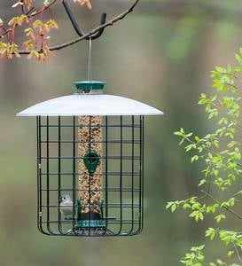 Domed Squirrel-Proof Cage Bird Feeder
