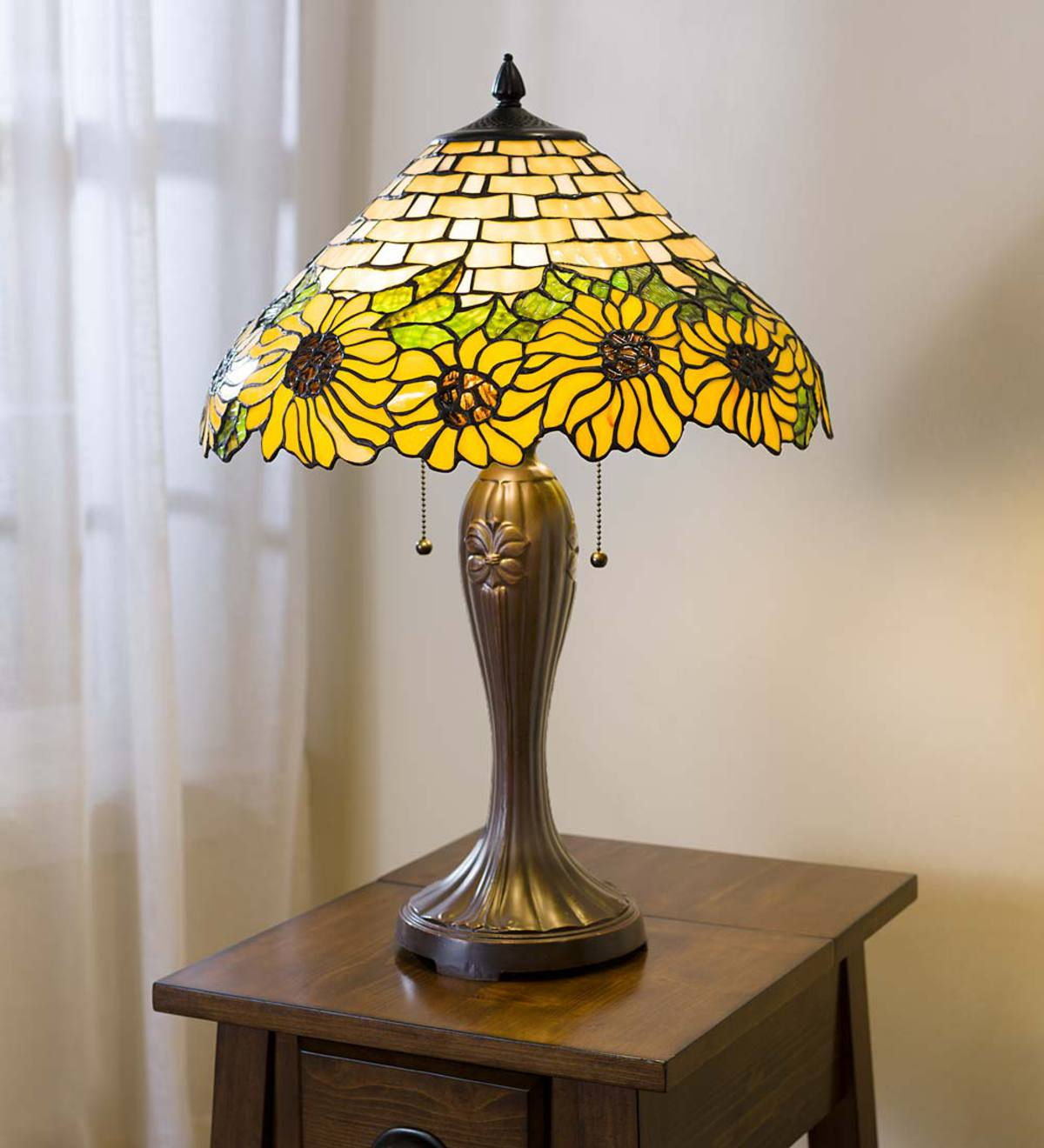 Sunflower Tiffany Table Lamp