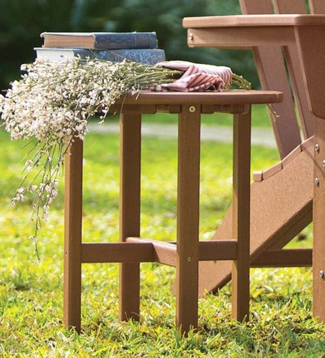 POLYWOOD® Low-Maintenance Outdoor Side Table