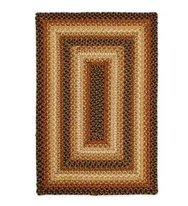 James River Braided Indoor/Outdoor Rug, 6' x 9' - Canterbury