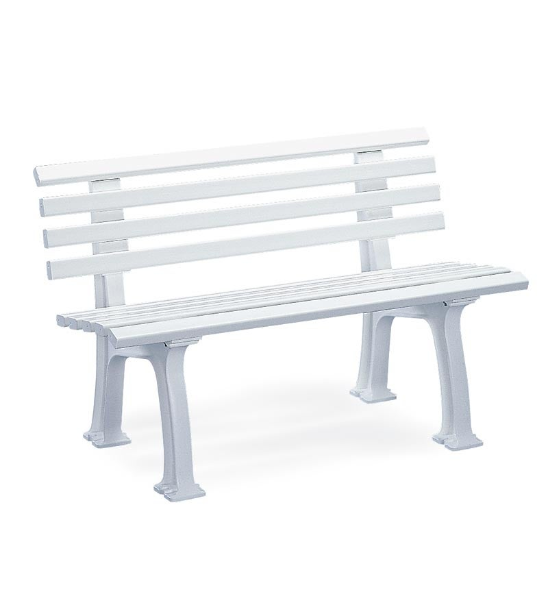 Small 2-Seater Weatherproof PVC Garden Bench