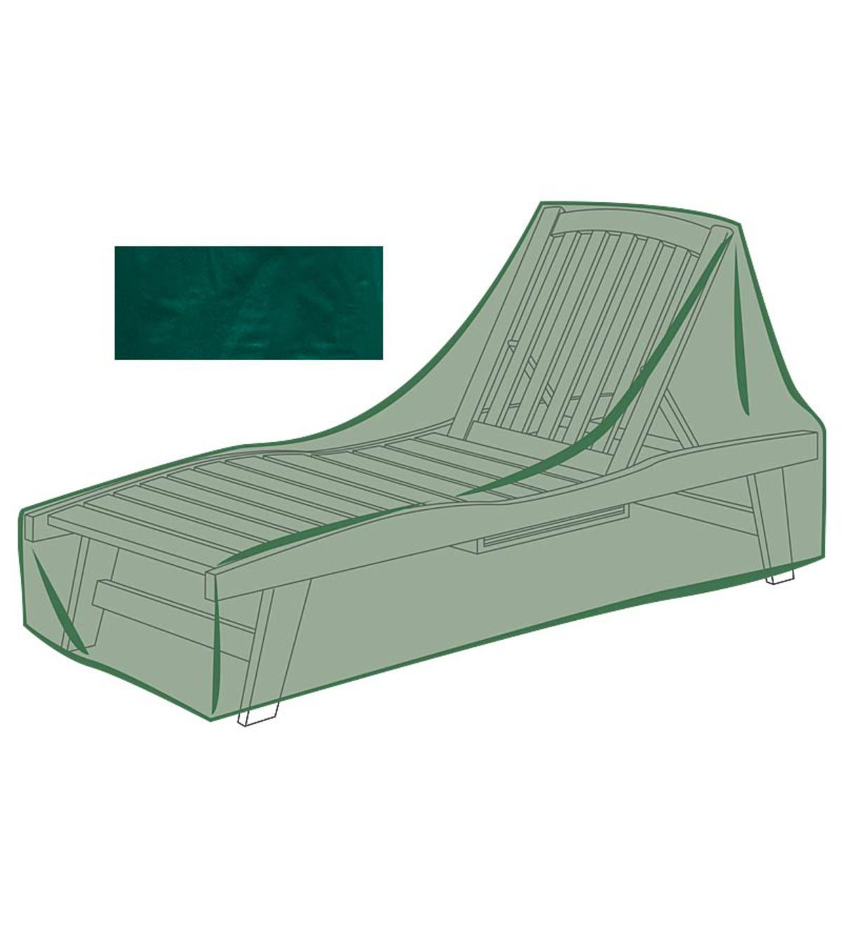 Classic Outdoor Furniture All-Weather Cover for Small Chaise