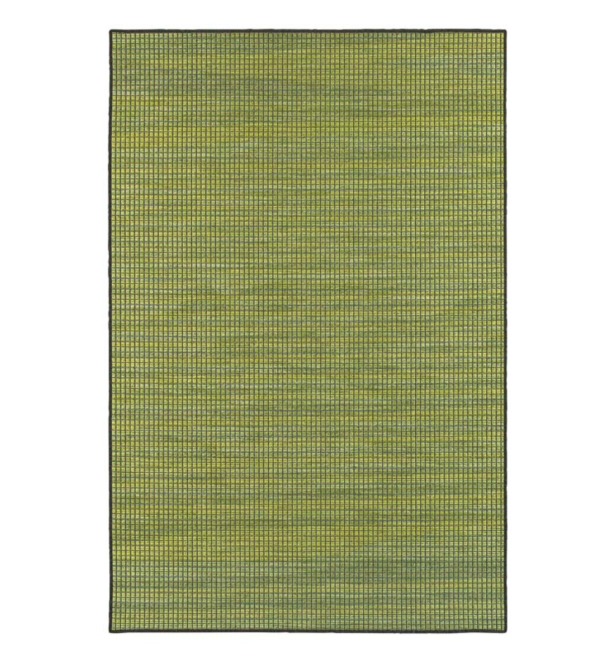 "Elements Textured Indoor/Outdoor Runner, 2'3""x 7'6"" - Green/Tan"