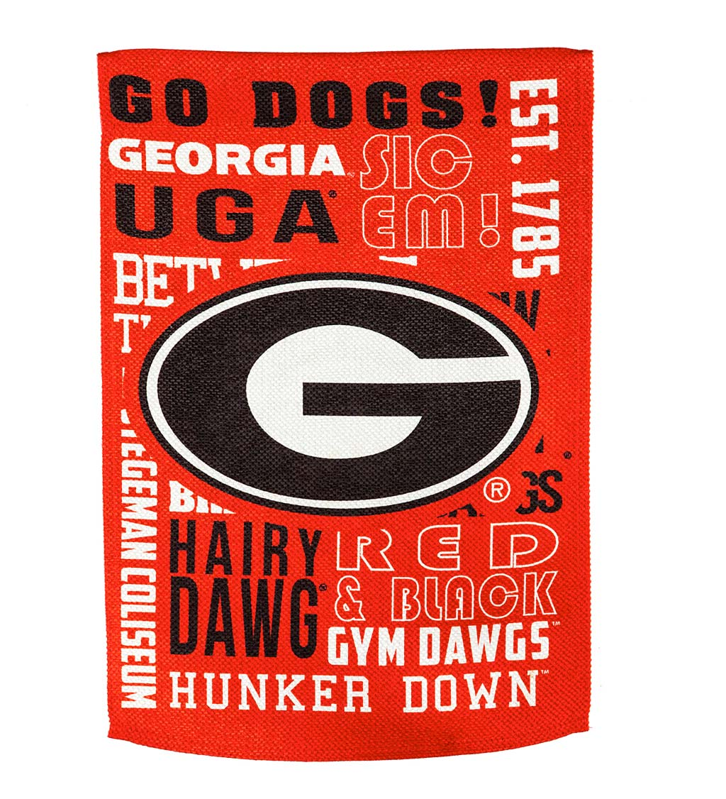 Double-Sided Fan Rules College Team Pride Sueded House Flag swatch image