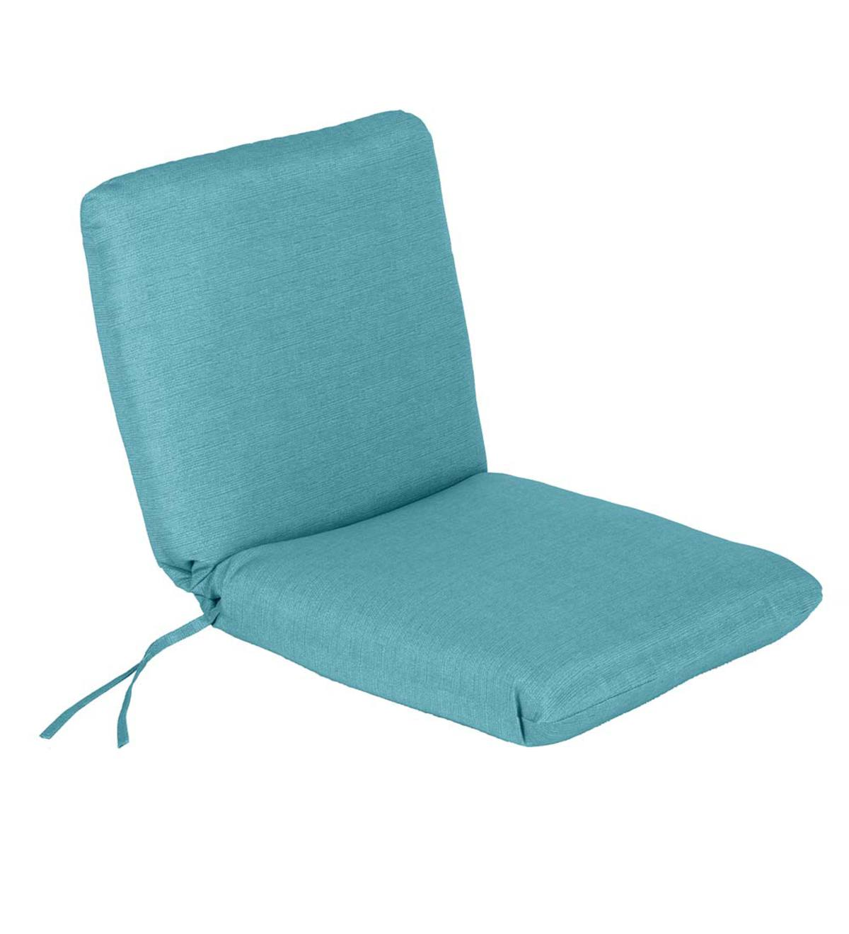 Shenandoah Outdoor Chair Seat/Back Cushion with Hinge
