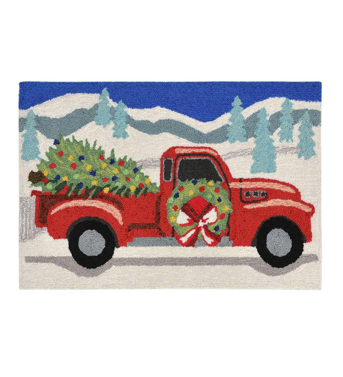 Indoor/Outdoor Joy Ride Holiday Accent Rug