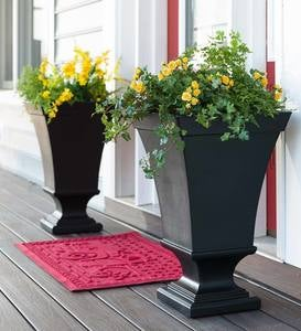 Richmond Self-Watering Pedestal Urn Planter
