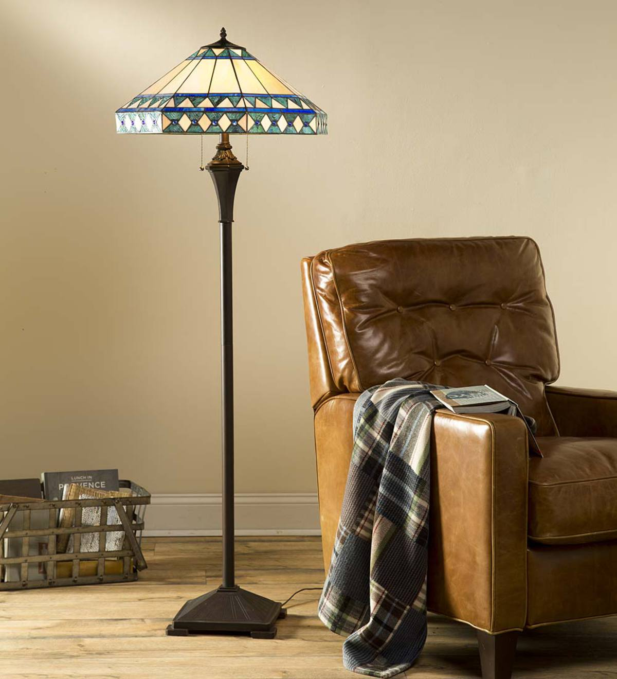 Strange Camden Tiffany Floor Lamp Plowhearth Theyellowbook Wood Chair Design Ideas Theyellowbookinfo