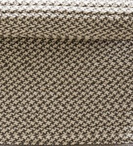 9' x 12' Houndstooth Polypropylene Indoor/Outdoor Rug
