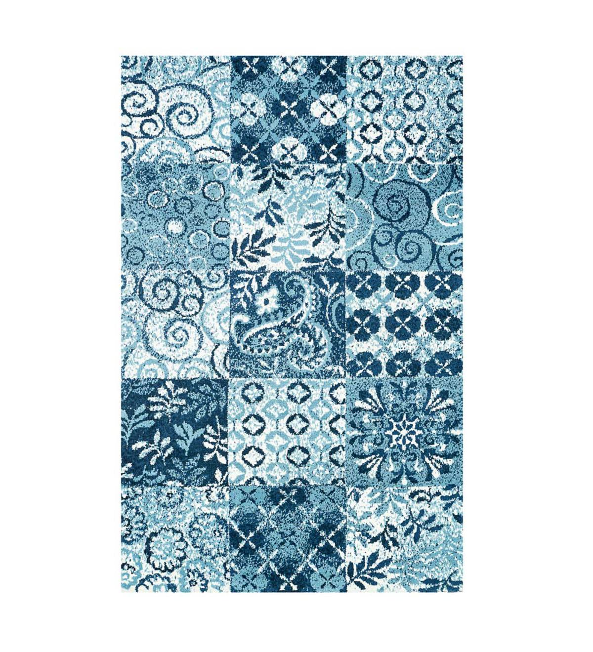 Vintage Style Hopewell Polyester Area Rugs