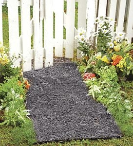 Permanent Mulch Pathway