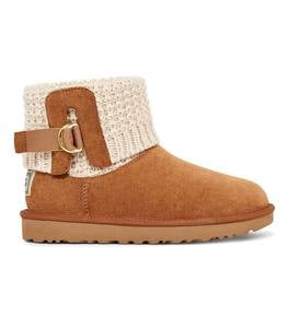 UGG Classic Solene Mini Knitted Boots with Adjustable Cuff